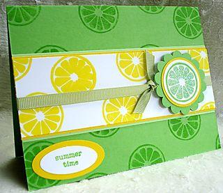 Lemonlimecard